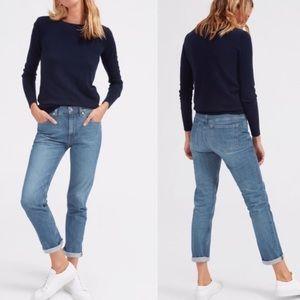 EVERLANE light wash boyfriend jeans size 26